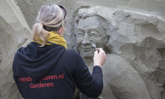 Schilderijen van Hollandse Meesters komen tot leven op jubileumeditie van 't Veluws Zandsculpturenfestijn