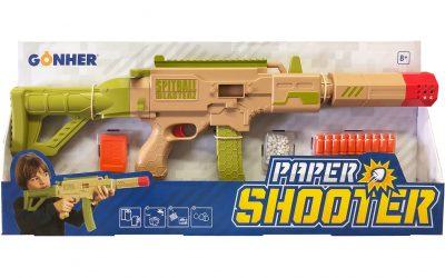 Papierpropjes schieten was nog nooit zo cool!