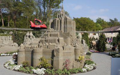 Onder de indruk van het tv-programma 'Aan 't Zand'? Kom dan eens naar 't Veluws Zandsculpturenfestijn!