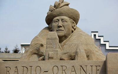 75 jaar vrijheid vieren bij 't Veluws Zandsculpturenfestijn