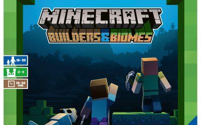 Stort je in een gloednieuw avontuur met het Minecraft bordspel!