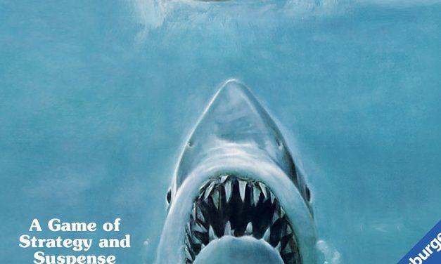 JAWS, het bordspel: Durf jij na het spelen van dit spel het water nog in?